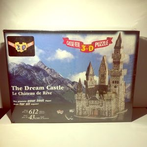 New The Dream Castle 3D Puzzle from 1997